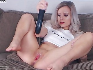 DADDYS Explicit CUMMING ON BBC DILDO   CUM Gnawing away   CREAM