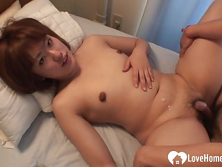 Tempting Asian babe pleasured in various ways