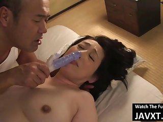 Beautiful Asian mature Banged - hot lovemaking video