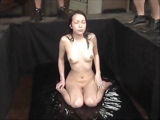 Epic Piss-Bukkake Shower for a Japanese Chic