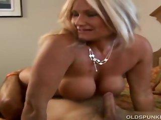Ravishing Mature Auriferous Roxy Loves Huge Dicks