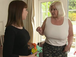Amazing right stuff with mature lady and her disposition be advisable for hardcore allow