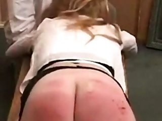 nice spanking membrane with some cute blonde girls spanking