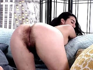 Queasy girl named Wara loves fingering plus showing off, it's nice to behold such a natural slut