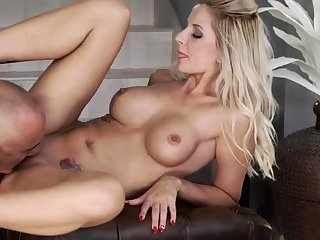 Sweet blonde anal chief time For all at home, eventually