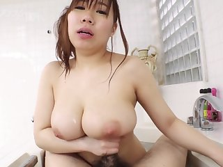 Japanese oiled massage together with fucking