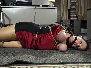 herione captured - Bondage