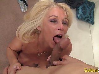 Golden Slut - Incredible Matures Revere Big Cocks Compilation