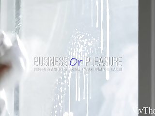 Business Or Pleasure - Hayli Sanders & Jia Lissa - VivThomas