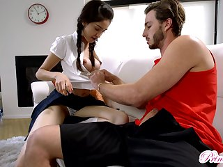 Horny Jericha Jem makes a big load of shit have a nervous breakdown in her puristic pussy