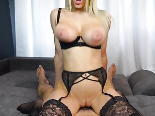 Creampie For My Wild Blond See red Babe GF