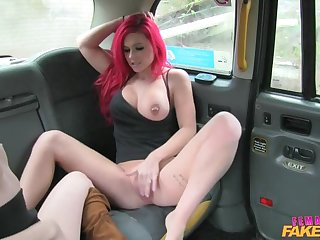 Dank Lesbian Taxi Sexual connection Session