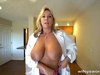 Busty Sex Dr Finger Banged Before Their way Cum Facial