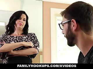 FamilyHookups - Hot Milf Teaches Stepson Nevertheless In every direction over Fianc�