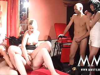 MMV Films German swingers making love in a making love club